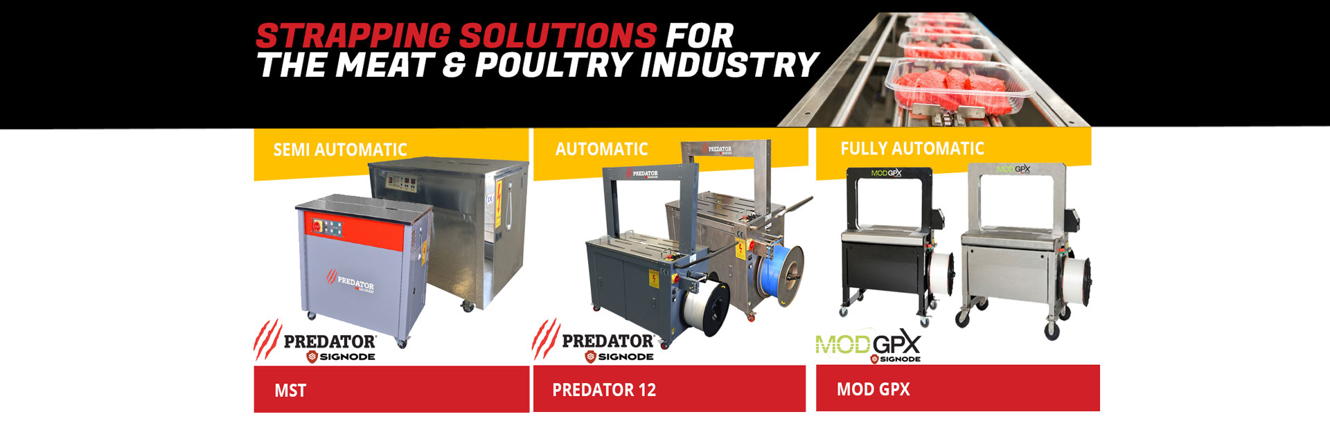 strapping solutions for the meat & poultry industry