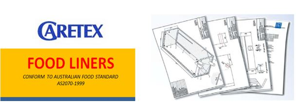 caretex custom made container liners