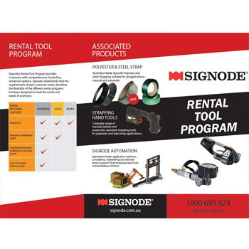 Signode Rental Tool Program