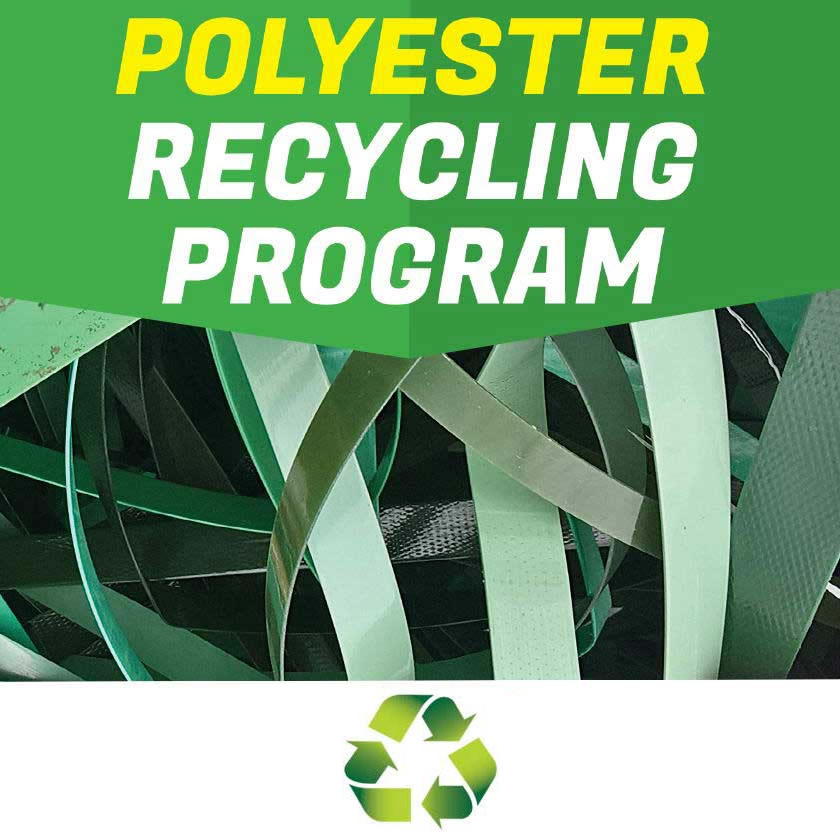 polyester recycling program