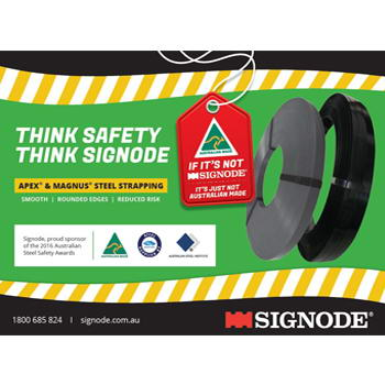 Signode Steel Strap Safety - Think Safety, Think Signode